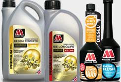 Millers Oils maziva a aditiva pro milovníky ostřejší jízdy