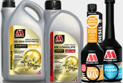 Motorové oleje a aditiva Millers Oils