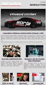 Legendární výfukové systémy Borla v Escape6