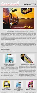 Katalog Meguiar's Brilliant Solutions 2014/2015 je na světě!