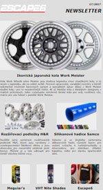 Ikonická japonská kola Work Meister v Escape6