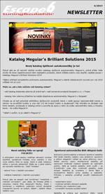 Katalog Meguiar's Brilliant Solutions 2015  Nový katalog špičkové autokosmetiky je tu!