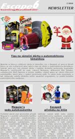 Tipy na vánoční dárky od Escape6!