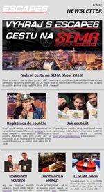 Vyhraj cestu na SEMA Show 2018 s Escape6!