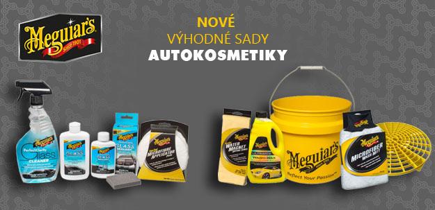 Nové výhodné sady autokosmetiky Meguiar's
