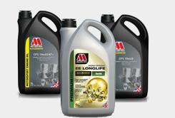 Motorové oleje Millers Oils