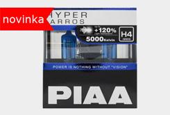Autožárovky PIAA Hyper Arros 5000K