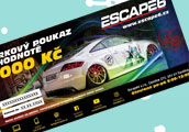 Dárkový poukaz Escape6