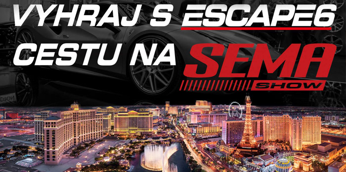 Vyhraj cestu na SEMA Show 2018!