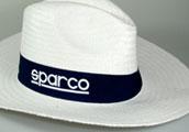 Bílý klobouk Sparco