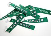 Textilní přívěsek TAKATA