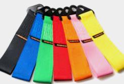 Textilní tažná oka skladem v mnoha barvách