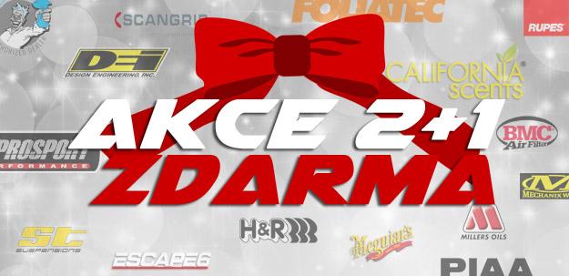 Vánoční akce 2+1 na spoustu produktů z nabídky Escape6!