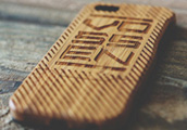 Luxusní bambusové pouzdro Vossenpro iPhone 5