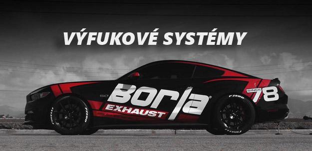 Legendární výfukové systémy Borla Exhaust z USA