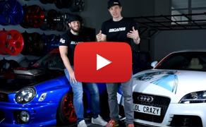 Co chystáme na našich showcarech Audi TT a Subaru Impreza WRX my?