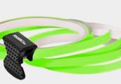 Neonově zelená linka na kolo Foliatec
