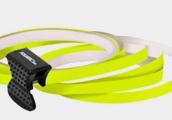 Neonově žlutá linka na kolo Foliatec